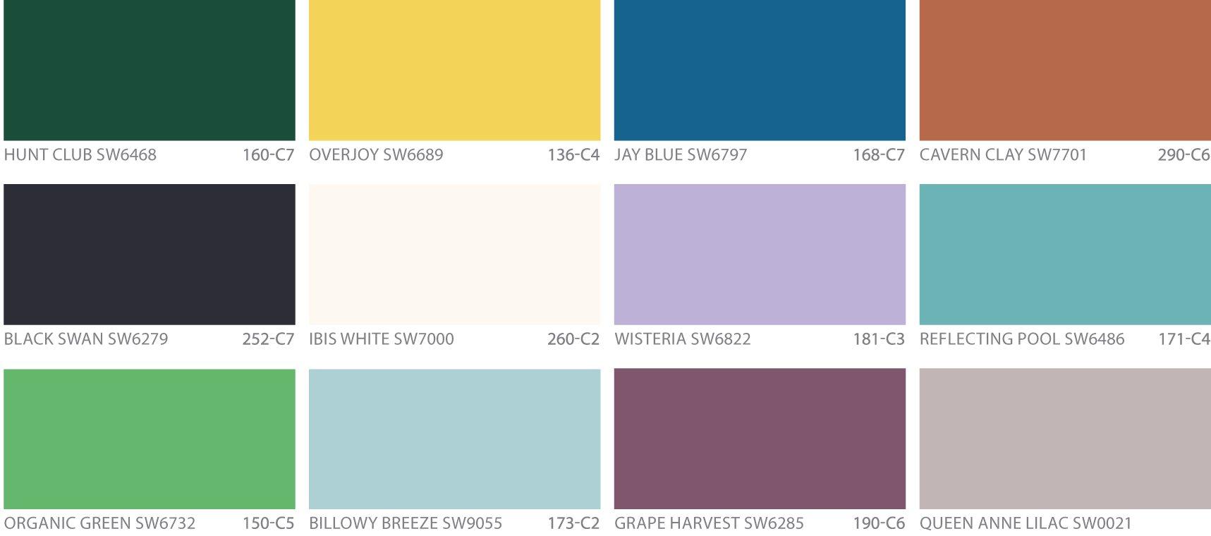 2018 color design trends no vacancy - Insulating exterior paint minimalist ...