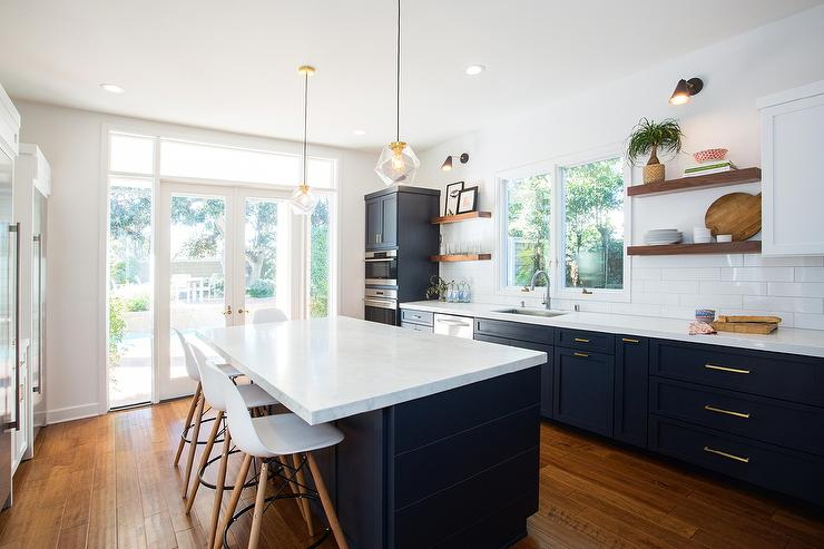 Navy Blue Kitchens That Look Cool And: NoVacancyHomeStaging_NavyBlueKitchen