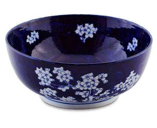Ceramic bowl.