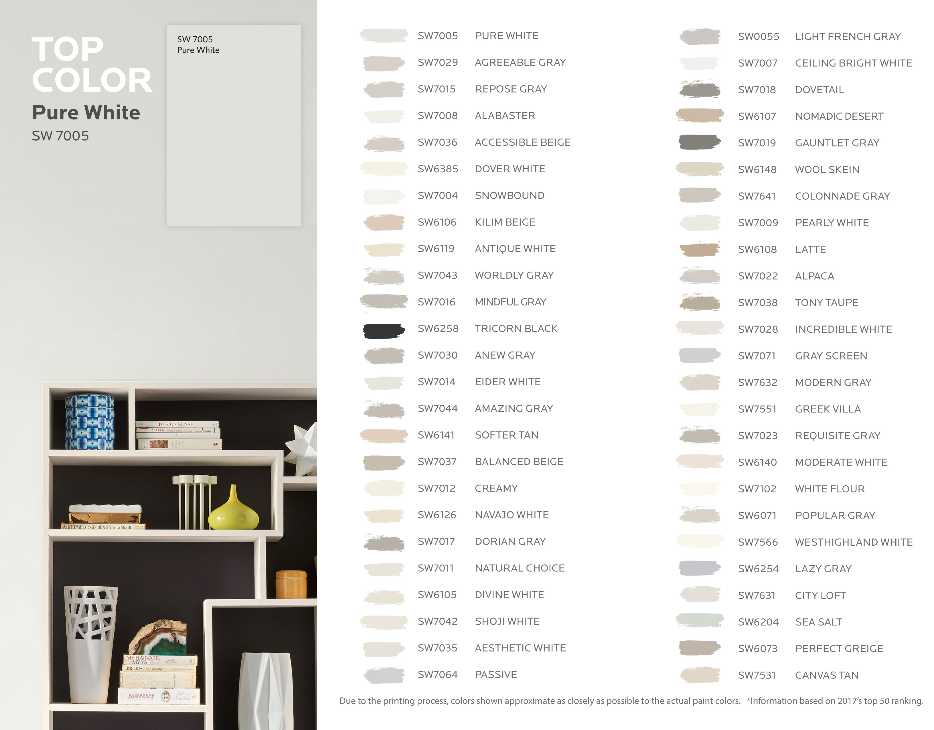 Paint swatch graphic