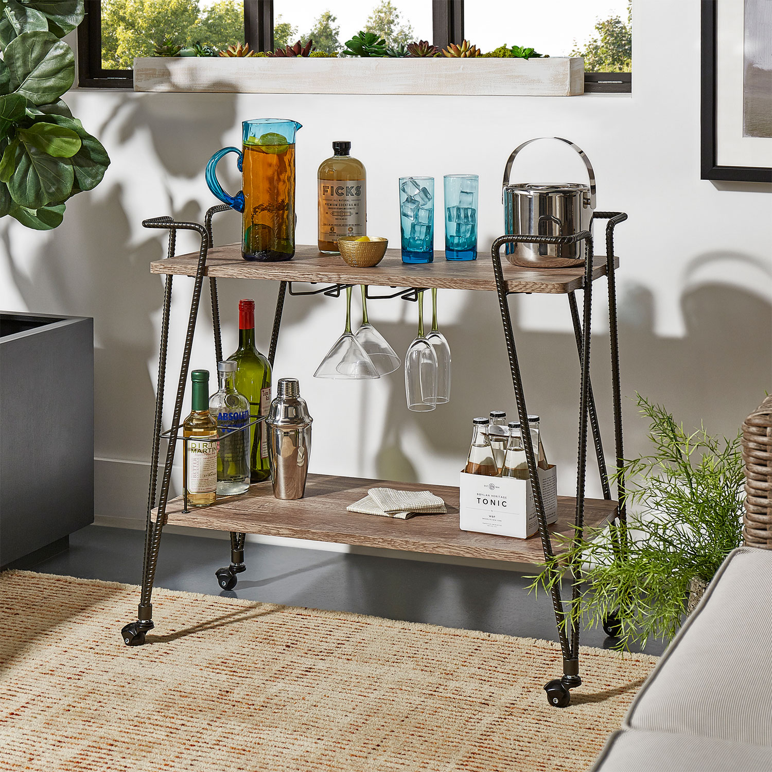 8 Bar Cart Ideas To Style Like A Pro No Vacancy Home Staging