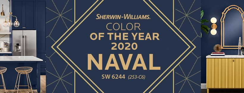 Sherwin Williams graphic for color of the year