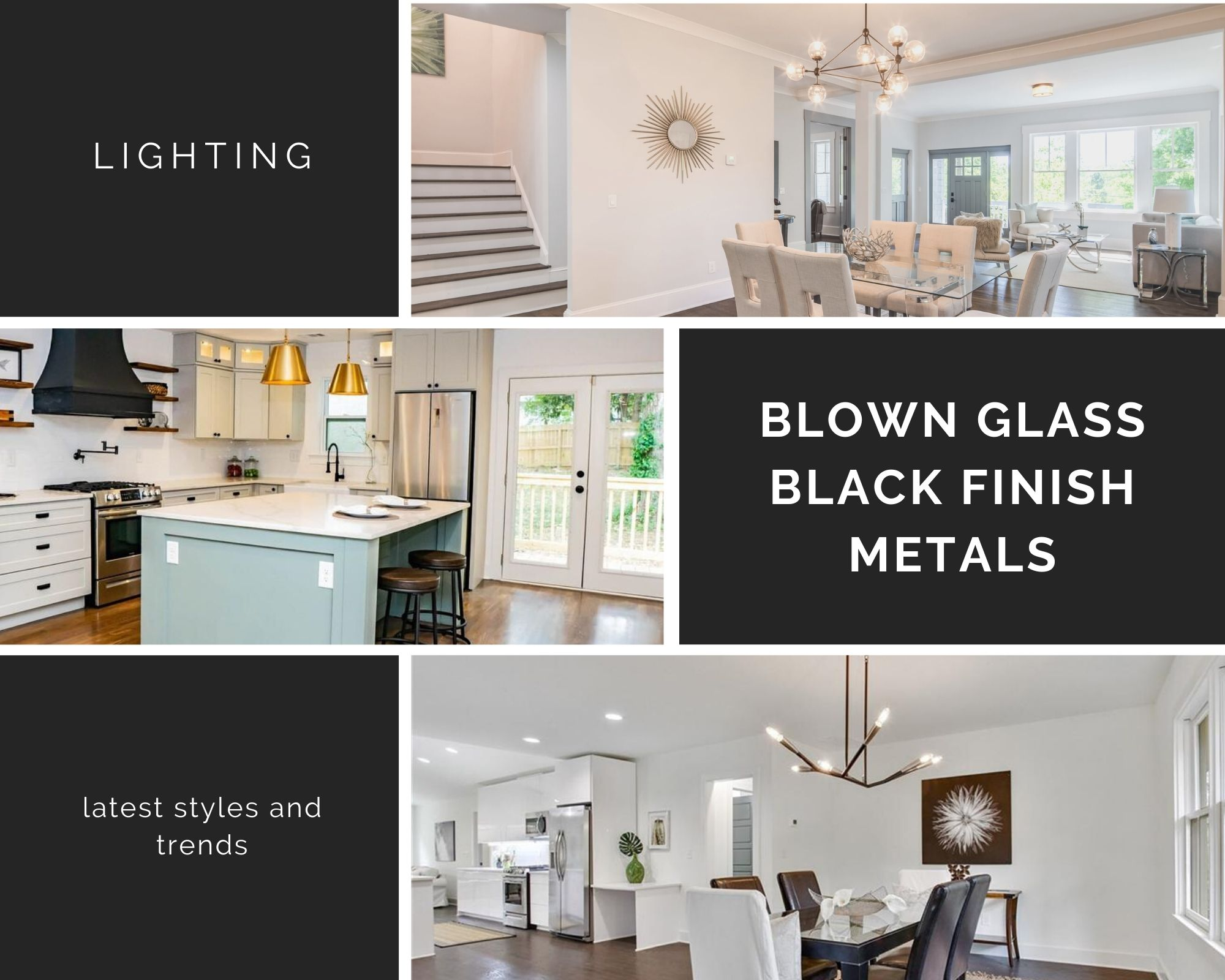 Featured image for blog featuring trending light fixtures
