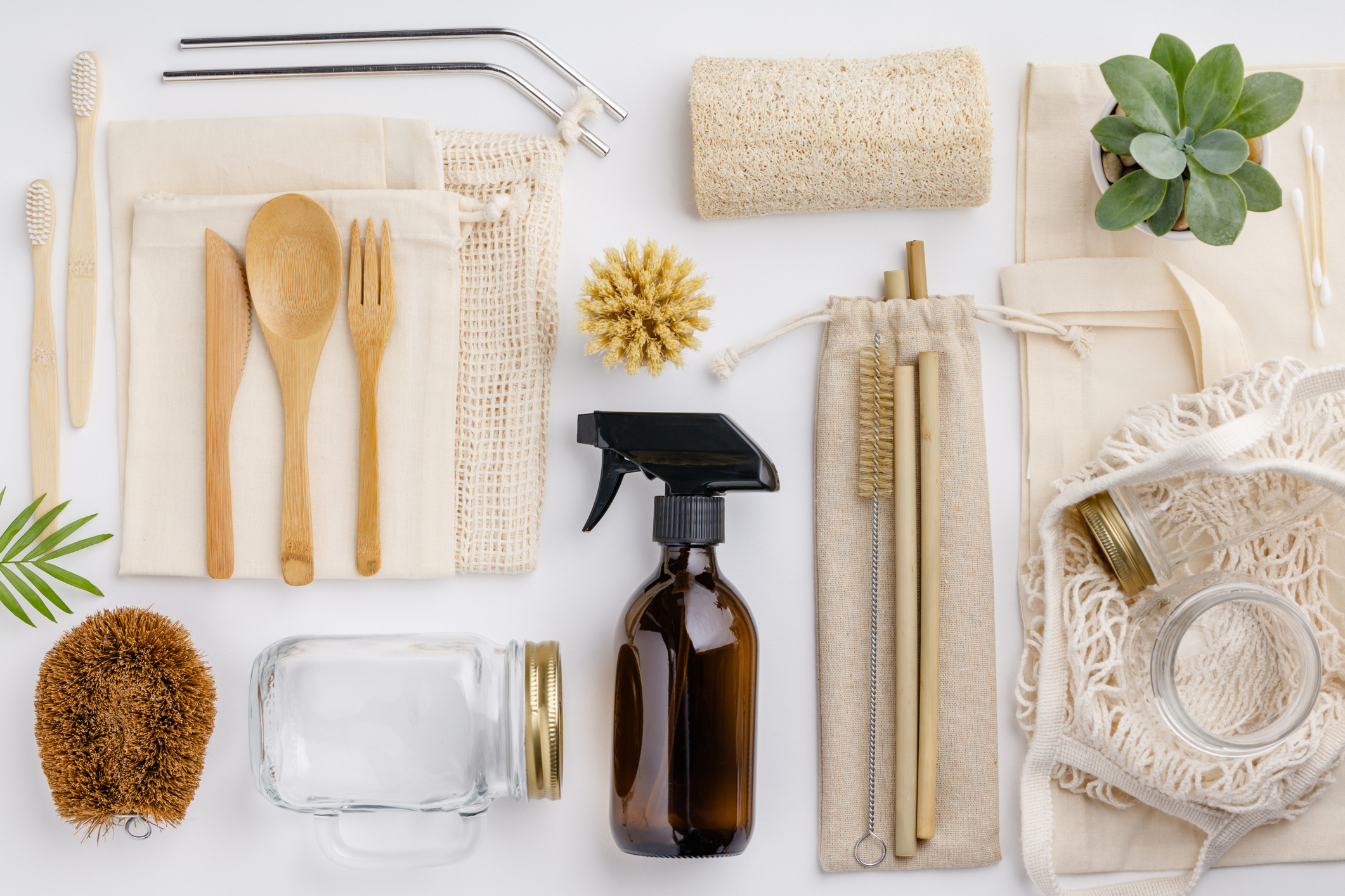 Green / eco-friendly cleaning products and utensils