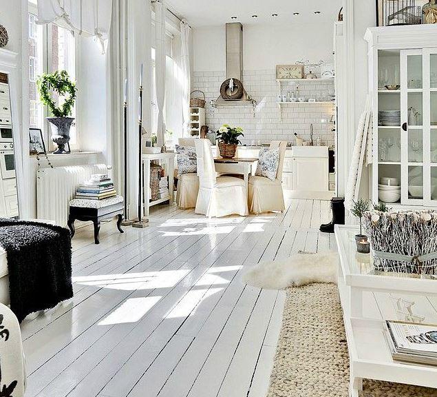 Scandinavian-design theme unique apartment