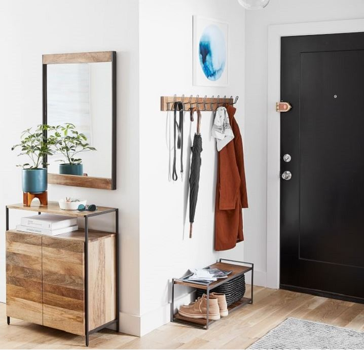 Entryway of a home
