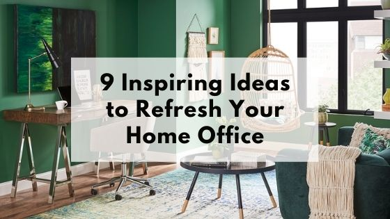 9 inspiring ideas to refresh your home office