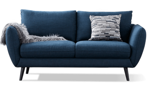 Blue sofa from CasaOne