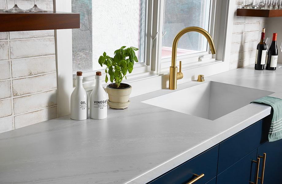 Laminate formica kitchen countertop
