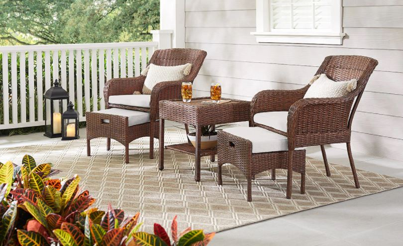 Front Patio Home Staging
